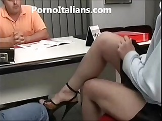 Milf italiana scopata in ufficio - italian milf fucking the office